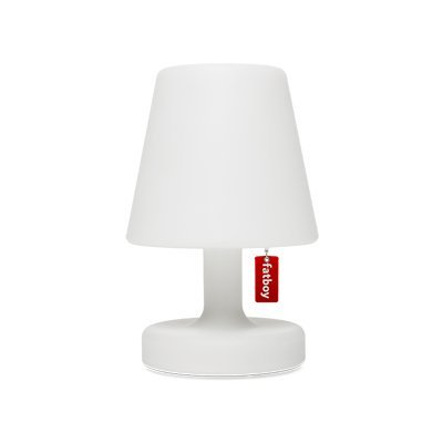Fatboy Edison the Petit | Lampe de table/d?extérieur/de chevet | Sans câble & rechargeable via USB Indoor & Outdoor | Blanc