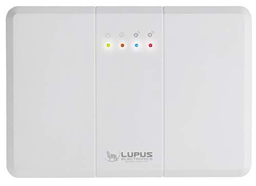 LUPUS Funkrepeater V2 für die XT Smarthome Alarmanlagen, kompatibel mit allen XT Funk Alarmanlagen, verstärkt alle 868Mhz Sensoren (Gefahrenmelder), inkl. 12V Netzteil, kaskadierbar