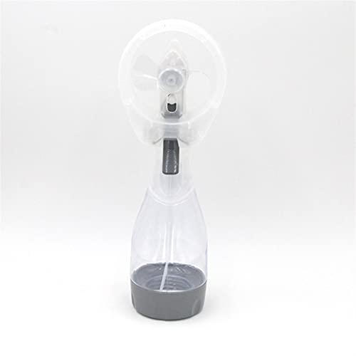 CGGA Portátil Mini 2 en 1 Fan Hand Spray Spray Fan de enfriamiento Agua Mist Mist Deporte Viajes Viajes Campamento Dropshipping (Color : White)
