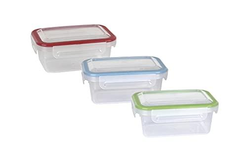 Fiambrera rectangular   Con tapa en color verde y capacidad para 1,4 litro   Apto para microondas, congelador y lavavajillas