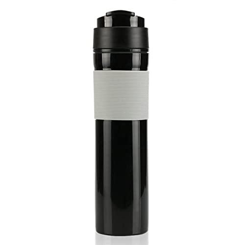 DTNFGSQ Mini ekspres do kawy ręczny ekspres do kawy przenośny ciśnieniowy ekspres do kawy ręczny ekspres do kawy dla podróżnika domowego (kolor: 1, rozmiar: A)