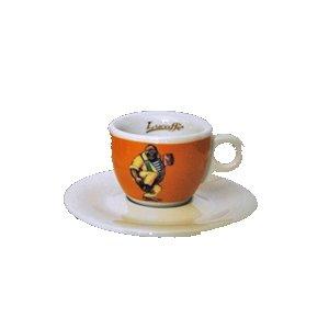 Lucaffe Espressotasse Classico orange