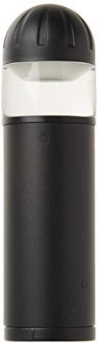 Sterno Home GL33601BK, Black Paradise Low Voltage Cast Aluminum Bollard Landscape LED Light