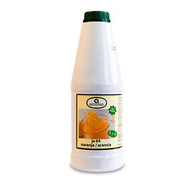 Arconsa - Jarabe de Naranja - Sirope Concentrado para Elaboracion de Granizado de Naranja - 1 Litro
