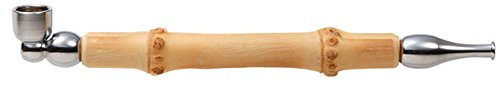 煙管 キセル 小粋 竹 クローム 約12�p (クローム)