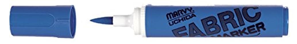 Uchida 722-C-3 Marvy Fabric Brush Point Marker, Blue