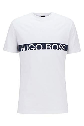 BOSS Herren T-Shirt RN T-Shirt mit Logo und integriertem UV-Schutz mit LSF50+