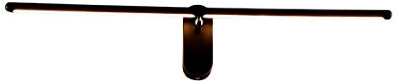 Einfache kreative Wohnzimmer Schlafzimmer Nachttischlampe kann auf und ab Zweige rotierende Wandlampe Wandleuchte lange Streifen Spiegel Scheinwerfer - weies Licht eingestellt werden