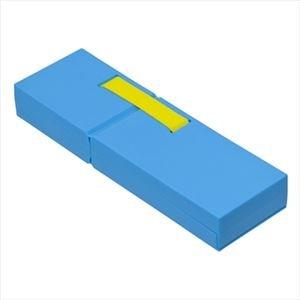 (業務用セット)ナカバヤシ ディスプレイペンケース Mサイズ ブルー PCN-DP02 BL【×3セット】