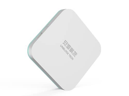 2021 Edition Unblock Smart TV Box UBOX8 PRO MAX i10 Gen. 8 /4G+64G/ Android 10.0/H616 6K CPU/DUAL WiFi /BT 5.0 /Sprachsteuerung/Global CDN/Keine Abogebühren/ 安博盒子第8代無年費終身免費歐洲客服保養