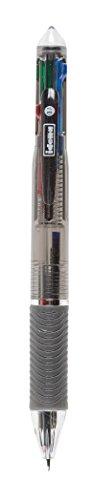 Idena 512029 Kugelschreiber, 4 in 1, 4 Schreibfarben, Strichstärke 0.7 mm