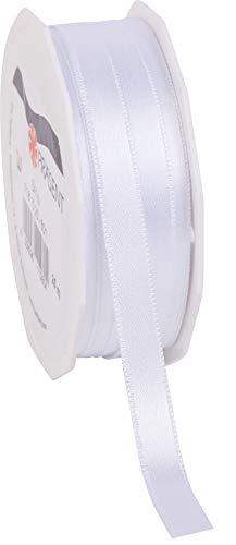 C.E. Pattberg SATIN noir, Rouleau de 25 m de Ruban Satinée pour Emballage Cadeau, Largeur 10 mm, Accessoire de Décoration et Bricolage, Ruban Décoratif pour Présents, en Toute Occasion