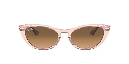 Ray-Ban Nina RB4314N-128151 Gafas de sol, Transparente/Brown, 54 Unisex