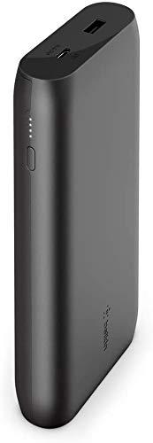 Belkin Boost Charge Batteria Esterna USB-C PD 20K (Caricabatteria Portatile a Ricarica Rapida con Porte USB-C e USB, Capacità 20000 mAh, Power Bank per MacBook, iPhone, iPad e altri), Nero