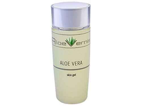 AloeVernis® BASIC aloe vera SKIN GEL 120 ml - Hyaluron, Collagen, Arganöl + 2 GRATIS Ampullen