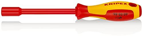 KNIPEX 98 03 09 Steckschlüssel mit Schraubendreher-Griff 237 mm