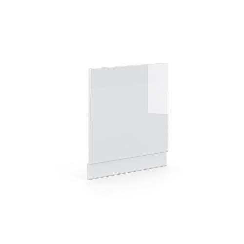 Vicco Küchenschrank Hängeschrank Unterschrank Küchenzeile Hochglanz Fame-Line (Weiß Hochglanz, Geschirrspülerblende 60 cm)