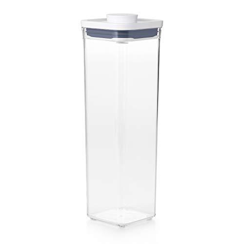 OXO Good Grips POP-Behälter – luftdichte, stapelbare Aufbewahrungsbox mit Deckel für Lebensmittel– 2,1l für Spaghetti und mehr
