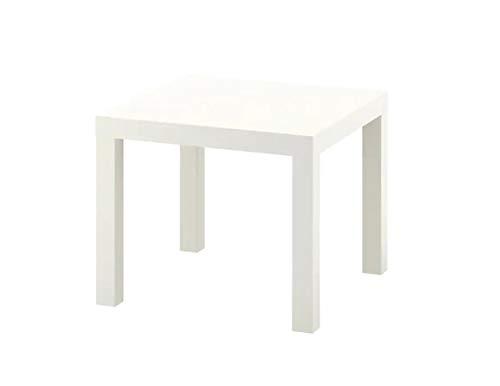 IKEA Mesa auxiliar Lack, 55 x 55 cm, color blanco