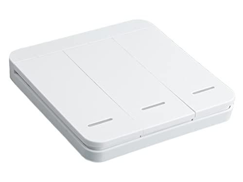 ZigBee Interruttore Wireless, ZigBee Scene Switch, 3 Tasti Con 9 Scene, Telecomando ZigBee Per Luci Led, App Tuya e Smart Life, Alimentazione Con Pile