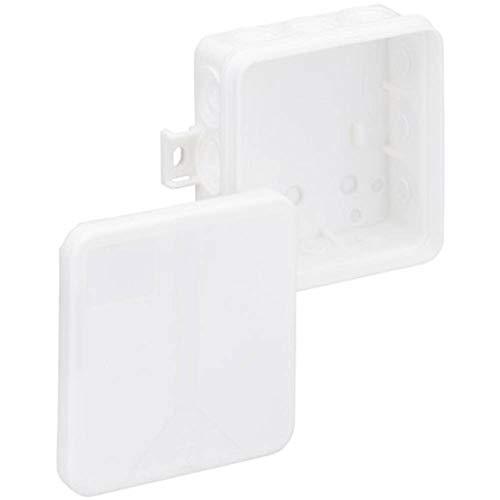 Spelsberg i 12-L/w Polipropileno (PP) Caja de Conexión Eléctrica - Cuadro Eléctrico (Blanco, 85 mm, 85 mm, 37 mm)