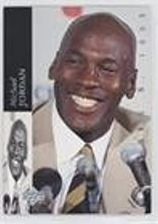 Michael Jordan (Basketball Card) 1993-94 Upper Deck Special Edition - Michael Jordan Retirement #MJR1