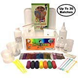 Huge DIY Slime Making Kit | All Supplies in One Box | Awesome Gift Idea | Clear, Color, Foam, Cream, Glow-in-The Dark, Glitter | Fun Science for Boys & Girls | [Bonus: Slime Repair Instructions]