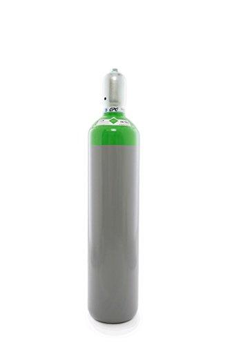 Druckluft 20 Liter Flasche,Pressluft 200 bar/NEUE Gasflasche (Eigentumsflasche), gefüllt - 10 Jahre TÜV ab Herstelldatum, EU Zulassung - made in EU