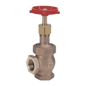 Globe Valve Angle, FNPT, 1 1/4 In, Pack of 4 from Milwaukee Valve