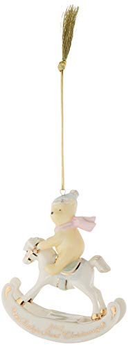 Lenox 2018 Winnie The Pooh Baby's 1st Christmas Ornament, Multicolor, 4 inches Height