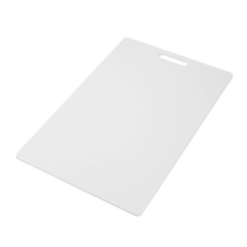 Farberware Poly Cutting Board, 12-Inch by 18-Inch, White