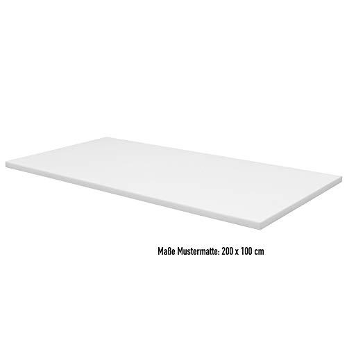 PUR-Schaumstoffplatte RG 22 - versch. Größen - (ca.200 x 100 x 6 cm)