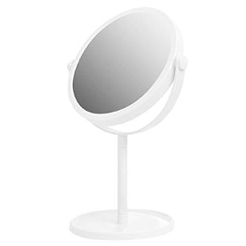 FZX514 Miroir de maquillageDouble Face Miroir Miroir de Maquillage Tabletop 13.5cm zéro Distorsion Design Double-Face à 360 degrés Lisse Mécanisme de Rotation Compact Portable