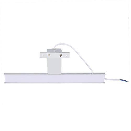 DAUERHAFT AC85-265V Salle de Bains Miroir lumière Haute efficacité Durable étanche Miroir Phare économie d'énergie, adapté aux Toilettes, Armoire, Placard, Table de Chevet, etc.(5W)