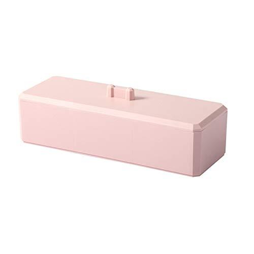 Cotton Swab Cosmetic Storage Box Makeup Drawer Organizer Jewelry Nail Polish Makeup Container Desktop Sundries Storage Box - Pink