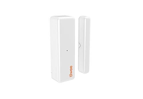 tiiwee TWWS03 - Sensor de Ventana y Puerta para Sistemas de Alarma Tiiwee Home Alarma. Amplía tu Sistema Fácilmente con Este Sensor de Puerta. Alarma Antirrobo para Puertas y Ventanas
