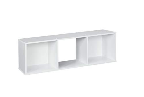 ClosetMaid 1024 Cubeicals Organizer, 3-Cube, White