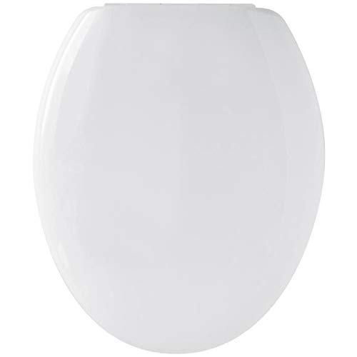 Gelco Design 702488 - Tapa para WC con Freno de Cierre, Color Blanco