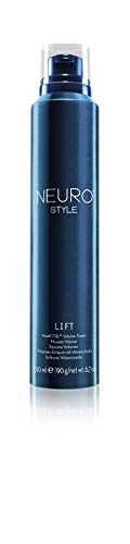 Paul Mitchell Neuro Lift HeatCTRL Volume Foam - veganer Leave-In Schaum-Festiger ohne Parabene, Styling-Mousse für optimalen Hitzeschutz, 200 ml