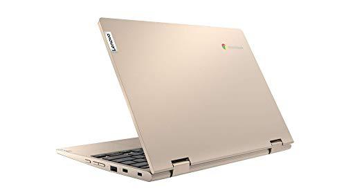 Lenovo IdeaPad Flex 3 Chromebook 29,5 cm (11,6 Zoll, 1366x768, HD, WideView, Touch) Ultraslim Notebook (Intel Celeron N4020, 4GB RAM, 64GB eMMC, Intel UHD-Grafik 600, ChromeOS) beige - 7