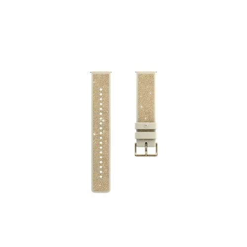 Polar Unisex– Erwachsene Kristall 20mm Armband fur Fitnessuhr, Kristallgold & Champagner, S