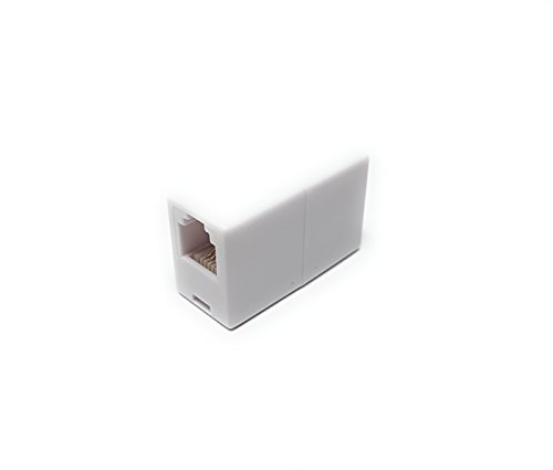 M (núcleo RJ11 a RJ11 6P4C acoplador de teléfono / ADSL Cable...