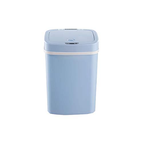DUTUI Bote De Basura De Pañal Desodorante con Sensor Inteligente, Cubo De Procesamiento De Pañales para Bebés, Contenedor De Almacenamiento De Desodorante, Bote De Basura Desodorante,Azul