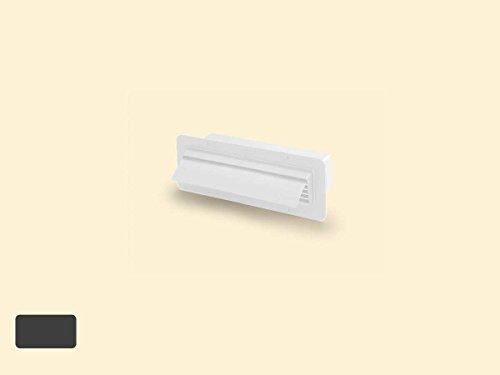 T-GILÜF 1 Breitkanal-Gitter-Außenhaube COMPAIR®top 125 weiß
