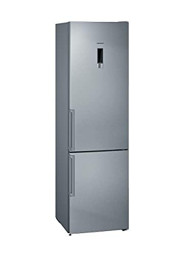 Siemens KG39NXIDR iQ300 Freistehende Kühl-Gefrier-Kombination mit Gefrierbereich unten / A+++ / 203 x 60 cm / Kühlteil 279 l / Gefrierteil 87 l / inox-antifingerprint