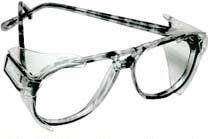 B52 Clear Safety Glasses Side Shields for Medium to Large Glasses