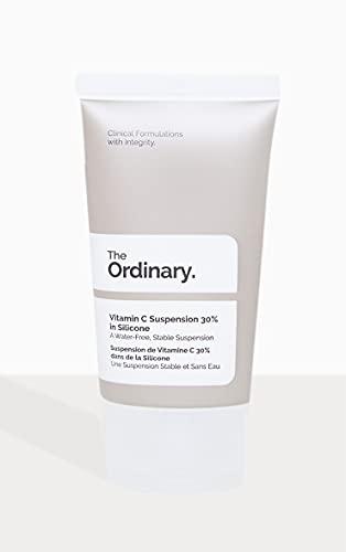 Suspensión de Vitamina C 30% en silicona tamaño completo 30ml The Ordinary
