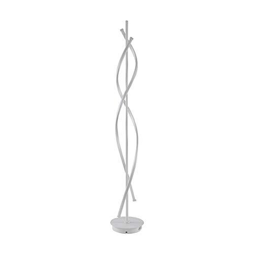 Lámpara de pie LED, Lámpara de pie regulable, Lámpara de pie curvada de 3800 lúmenes, Iluminación decorativa para sala de estar Lámpara de pie Iluminación de decoración del hogar, Altura 135 cm