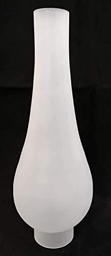 Oberstdorfer Glashütte Lámpara cilíndrica de repuesto de cristal esmerilado de Viena, cristal...