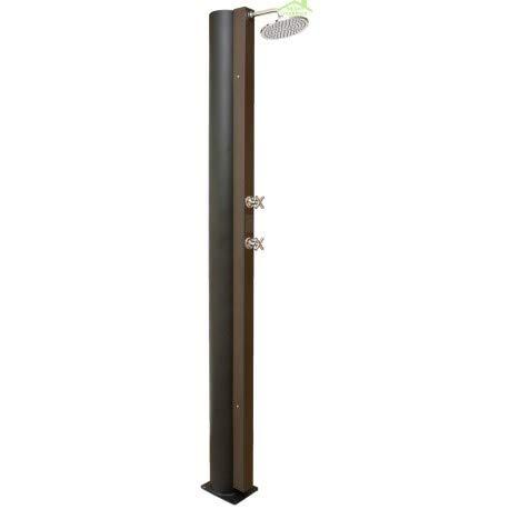 Crm-Ducha solar 40 L, acero inoxidable